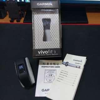 🚚 [僅拆封]GARMIN Vivofit 3 健身手環 絕色黑