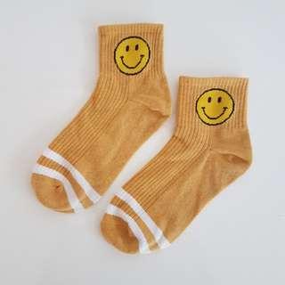 Smiley Face Socks