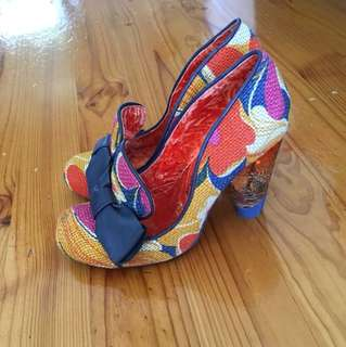 Irregular Choice Heels Sz 40