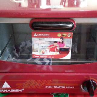 Hanabishi oven toaster 1300 orig price now 700