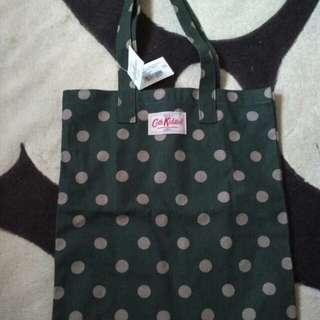 Cath Kidston bookbag green