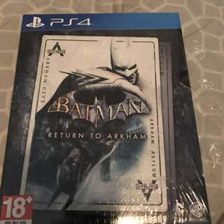 Batman ps4 蝙蝠俠