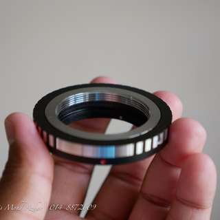 M39 Leica Screw Mount to Fujifilm X Mount Adapter