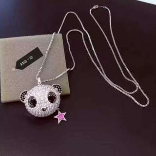 Swarovski Panda Necklace