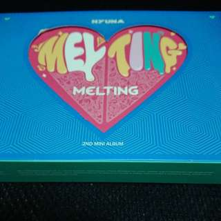Hyuna 2nd mini album Melting