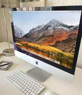 Dengan Rentang Layar Luas iMac 27-inch 3,4QC/8GB/1TB Cocok Anda Miliki