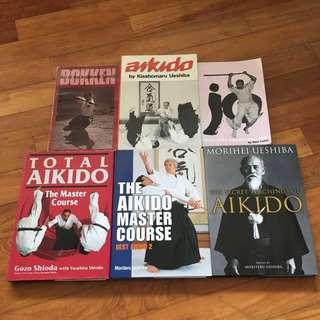 [75% Discount] Aikido, Bokken and Jo course books