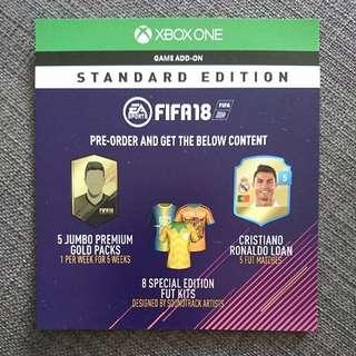 Fifa 18 FUT game add-on