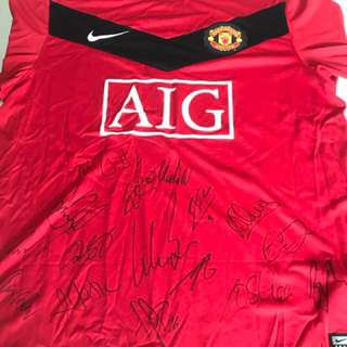 Manchester United Football top from 2009.