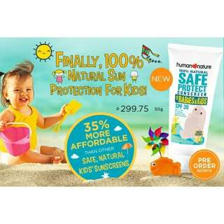 Human Nature Safe Protect for Babies and Kids