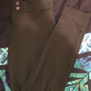 Forever 21 Army Green Pants Size M