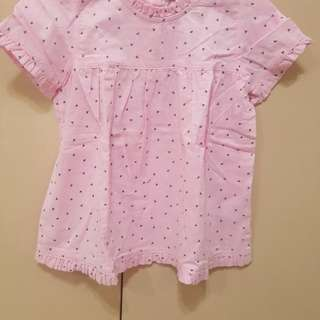 Orig Esprit pink dress 24 months