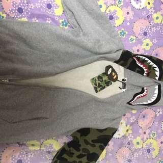Bape Shark Hoodie Camo 100% Legit ( Medium Size )