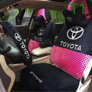 Car Seat Cover w/ Toyata Design