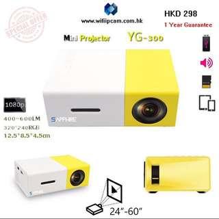 Mini Projector 迷你投影機 YG300