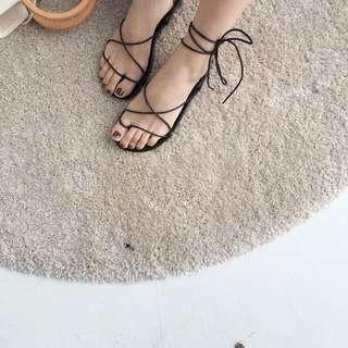 綁帶羅馬鞋