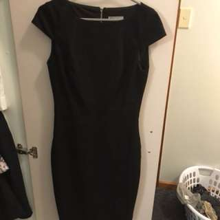 Target Black Corporate Dress Size 6