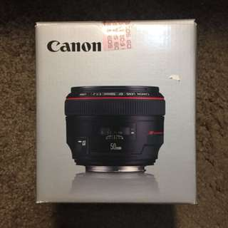 (已售出)可小議 [全新品] Canon EF 50mm f/1.2L USM 公司貨
