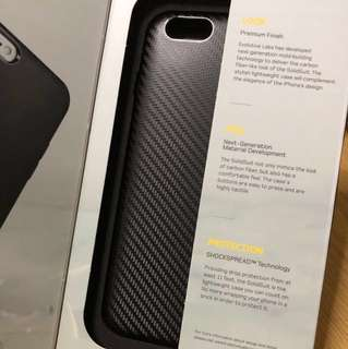 iPhone 6 Plus / 6s Plus cover - Carbon fiber