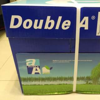 A3Siz-80,GSM Double A Copyer Paper,-全新A3呎吋80磅雙A牌影印纸
