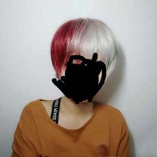 [PO] Boku No Heo Acadamia Shoto Todoroki cosplay wig