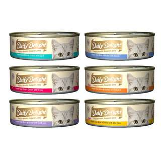 DAILY DELIGHT 80G (PER CARTON OF 24 CANS)