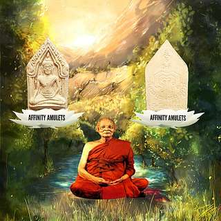 Thai Amulet Khun Paen