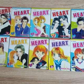 Dijual preloved komik Heart - Takada Rie