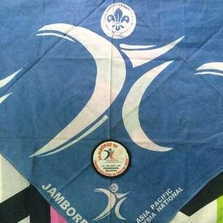 Scarf & Logo Jamboree Pengakap Ke-9 (1997)