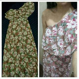 Primadonna venus cut floral maxi dress