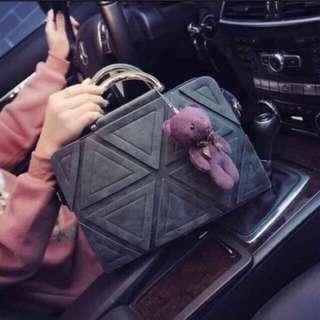 韓國簡約手提包