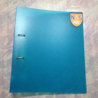 Blue Ring File (+ NUS sticker)