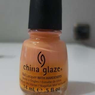 China Glaze Nail Polish Peachy