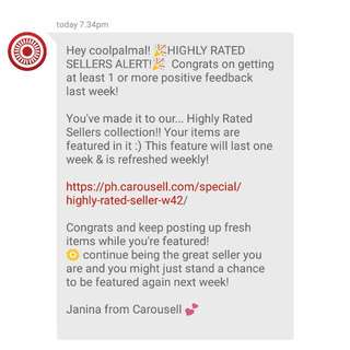 THANK YOU CAROUSELL! 💕 (2nd Time)