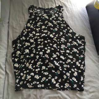 ASOS sunflower summery loose fit top