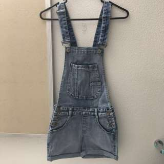 BRAND NEW WITH TAGS SHORT DUNGAREES / OVERALLS