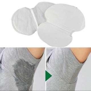 50pcs Underarm Pads Dress Sweat Perspiration Pads Shield Underarm Armpits Sweat Pads Deodorant For Men Women Armpit Absorbent Pads
