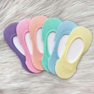 Pastel Adult Foot Socks