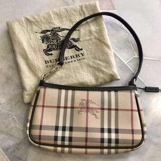 BURBERRY Haymarket Check Bag