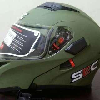 SEC Dual Visor Modular Helmet