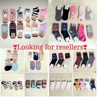 Looking for Reseller of Korean Socks ❣
