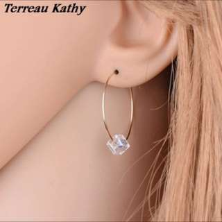 Earring crystal fashion FREE POSTAGE