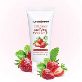 Human Nature Purifying Facial Scrub