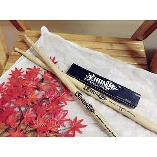 知名品牌 漢 7A 鼓棒 美國山胡桃木 初學者也可以 近全新