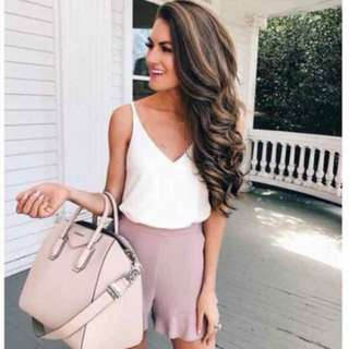 💕Sleeveless Top with Ruffle Short💕