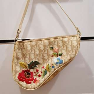 Preloved Authentic Christian Dior Saddle Bag