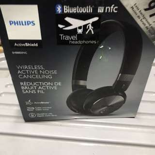 Philips wireless noise cancelling headphone New