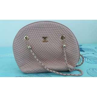 Chanel Pink Sling Handbag