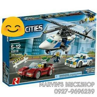 For Sale Police Station Building Blocks Toy L 0218
