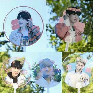 [Pre-order] EXO Transparent Handfan